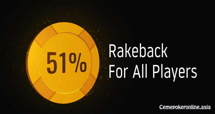 Rakeback-Situs-Poker-Online